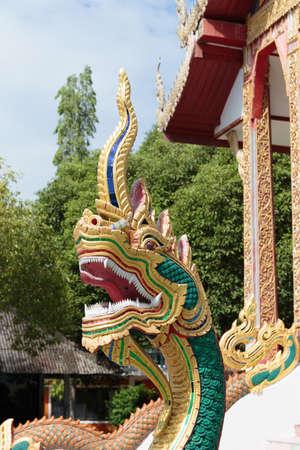 guarding: Great naga guarding the temple