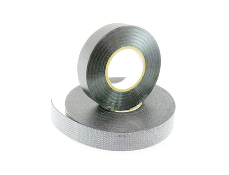 insulating: Insulating tape isolated on a white background