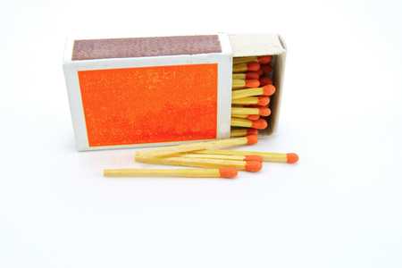 match box: Match box on white background