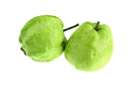 guava fruit: Guava fruit isolated on the white background