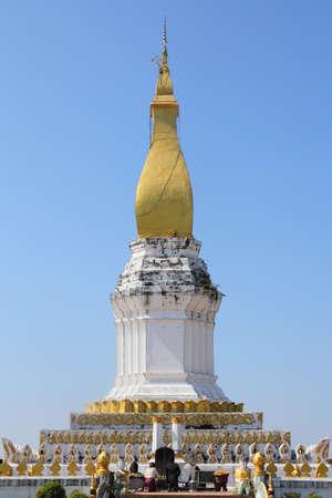 Sikhottabong pagoda, Khammouan, Tha Khaet, Lao