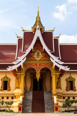 Hor Thamma Shapa Temple, near Wat That Luang Stupa, Vientiane, Laos