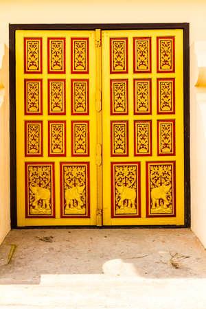 Lao temple gate