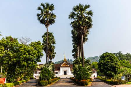 Royal Palace Museum, Luang Prabang, Laos Stock Photo