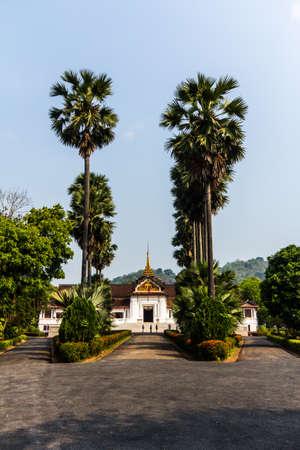 Royal Palace Museum, Luang Prabang, Laos Zdjęcie Seryjne