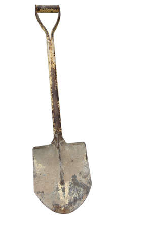 Shovel isolated on white background Stock Photo - 19979050