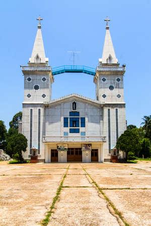 Catholic church, Nakhon Panom, Thailand