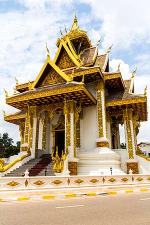 The New Vientiane city pillar shrine, Vientiane, Laos