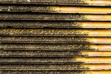 Piles of old roof tiles Stock Photo - 21015278