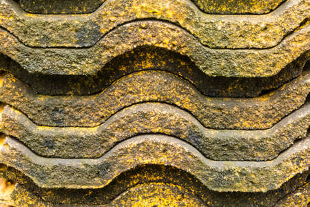 Piles of old roof tiles Stock Photo - 21015280