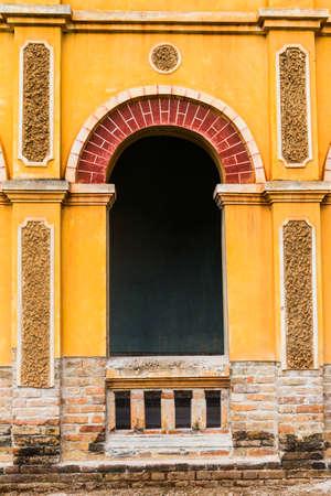 reparations: Colonial old building at Nakhon Panom, Thailand