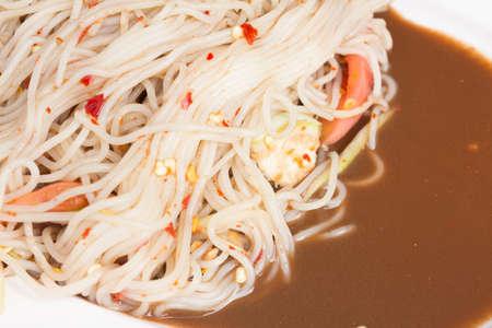 パッタイ パパイヤ サラダ、ソムタム (タイ料理)