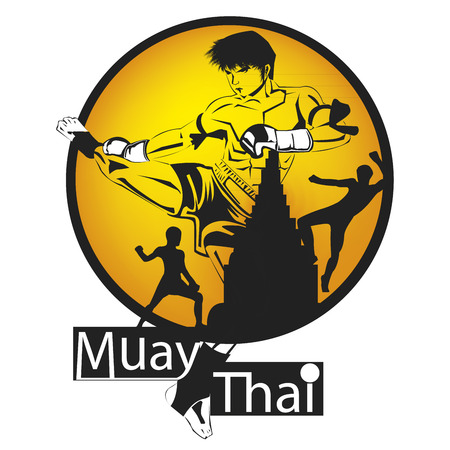 caucasians: Thai boxe
