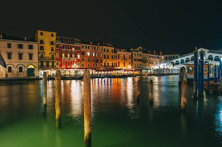 night views: Venice city and its night views