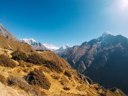 The best view of the Himalayas