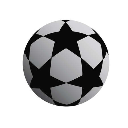 soccer ball on a white background Stock Vector - 18648361