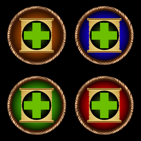 icons for games with the ancient scroll of weakening Çizim
