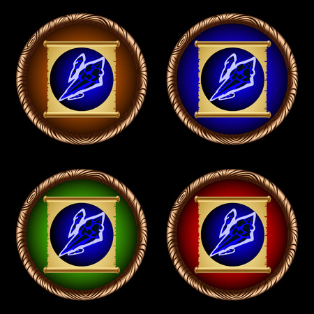 icons for games with the ancient magic scroll of ice lance