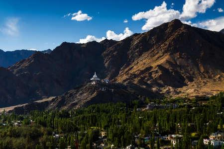 shanti: Shanti stupa in Leh