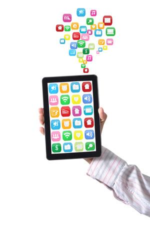 sense of space: Handle the tablet medium
