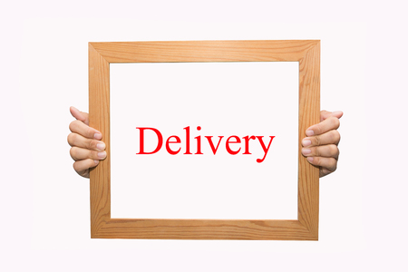 Writing Delivery concept  photo