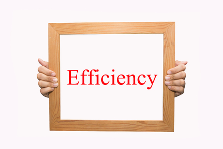 Writing Efficiency concept  photo