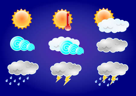 Weather Icon Stock Vector - 18302342