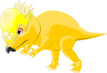 Pachycephalosaurus 일러스트
