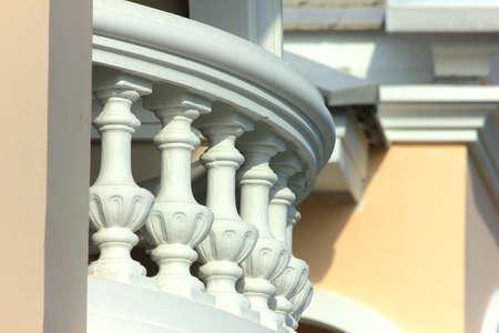Classic Balcony Stock Photo