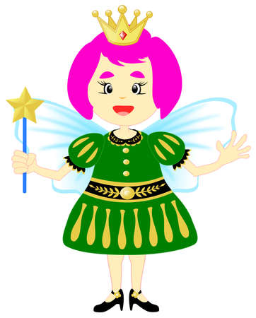 The little angel cartoon character