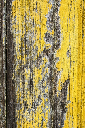 photos of pattern: Old wooden surface with peeling paint. Stock Photo