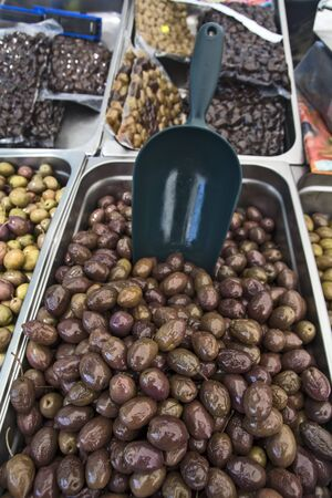 Sale of fresh olive groves in Greece. Olives of all kinds can be tasted before purchase.