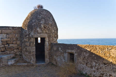 Watchtower on a Fortezza fortress from which the Venetian guards have been observed for the Turkish enemy fleet Stock Photo - 17914298