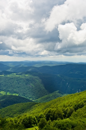 A View From The Top Of Beautiful Beljanica Mountain In East Serbia Stock Photo