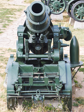 Big 305mm Morser canon from the first world war at Kalemegdan fortress in Belgrade, Serbia photo
