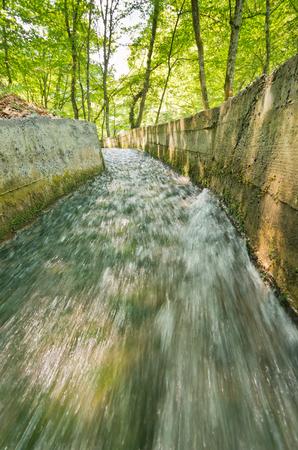 tara: Aquaduct at the foot of Tara mountain and national park, west Serbia