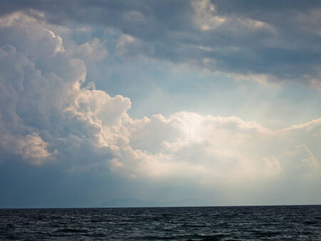 sithonia: Meteo compensazione in mare dopo la tempesta a Sithonia, Grecia