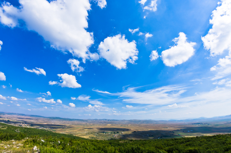 tableland: Panorama of Pešter plateau landscape in southwest Serbia