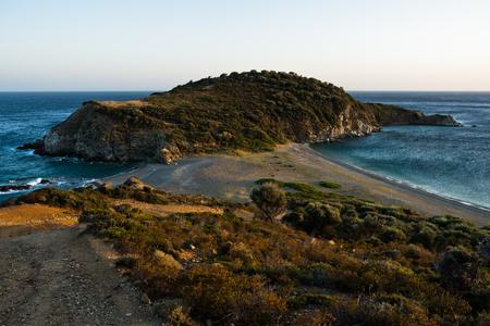 sithonia: Cape at the most southern point of Sithonia coast near Porto Koufo, Greece