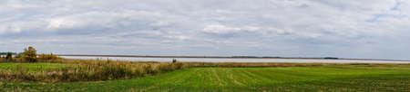 salinity: Big salt lake Slano Kopovo in north Serbia, remains of Panonian sea and natural habitat for many bird species during seasonal migration