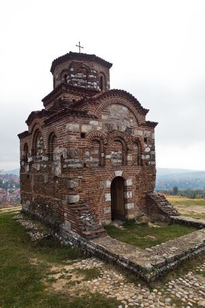 Church of Holy Trinity from XI century build by byzantine emperor Manuel Comnenus, Nis, Serbia