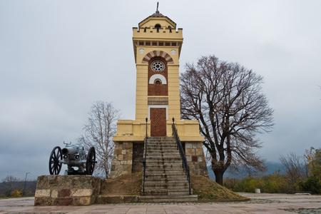 Battle of Cegar memorial near city of Nis, Serbia