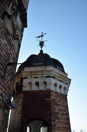 windward: A vane on Gardo? tower in Zemun, Belgrade, Serbia