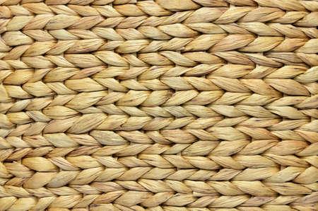 Natural handmade woven corn husk surface as a background