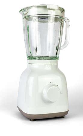 White empty juicer isolated on white background