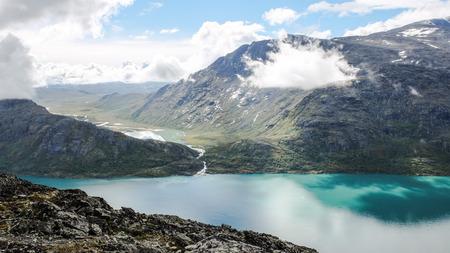 Mountain view. Bessengen, Jotunheimen National Park, Norway.
