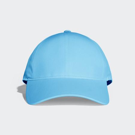 Deep Sky Blue Baseball Cap Mock up