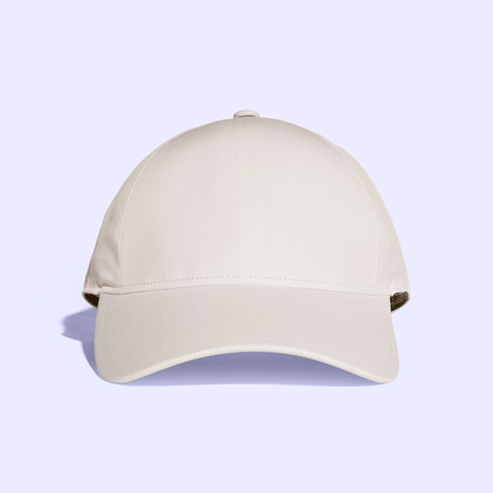 Antique White Baseball Cap Mock up