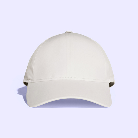 White Old Lace Baseball Cap Mock up Stockfoto