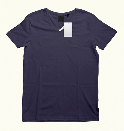 Beautiful V-Neck T-shirt mock-up to showcase your t-shirt designs. With these free mock up templates you don't have to wait for your artwork to be done, by simply pasting your graphic into this mock 写真素材